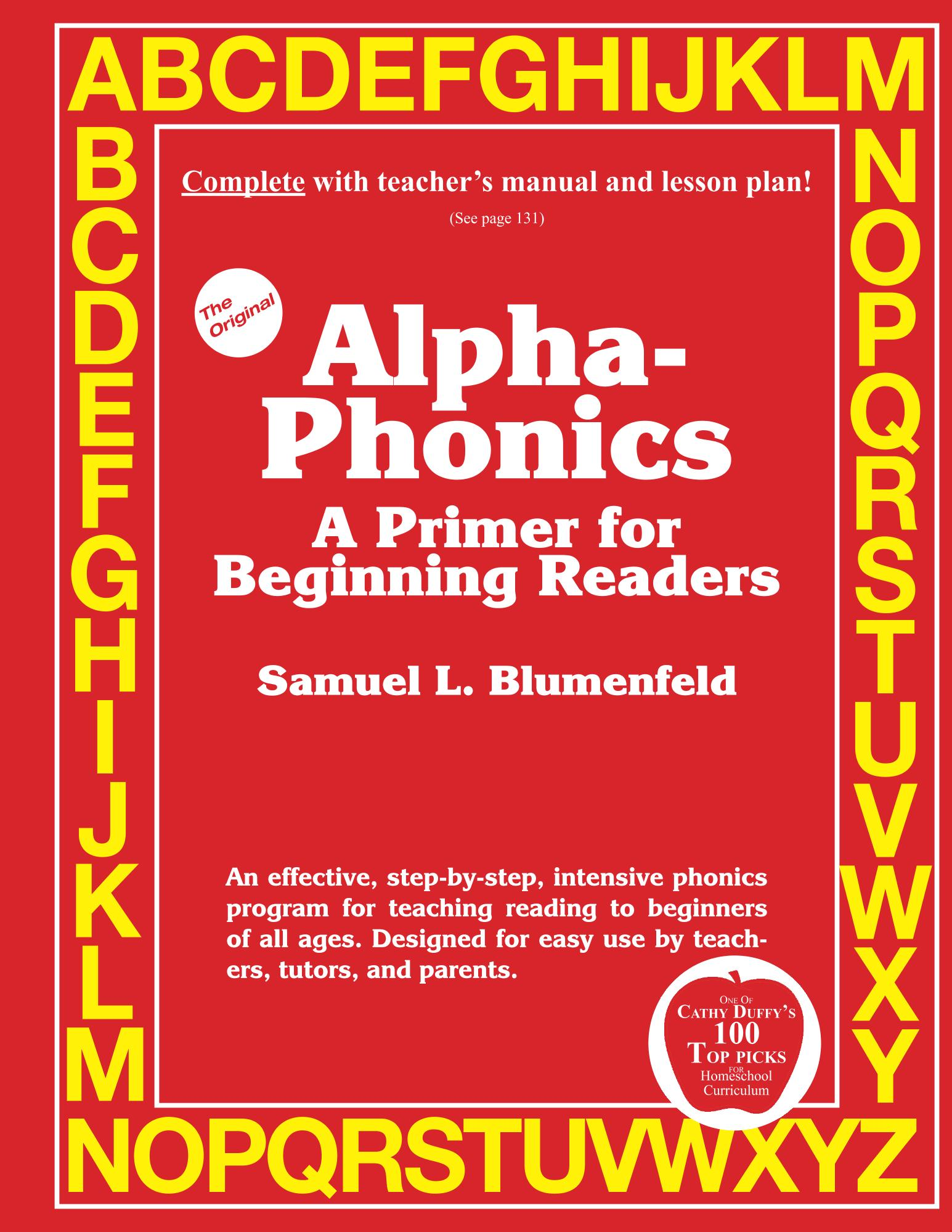Sam Blumenfeld's Original Alpha-Phonics Home Page